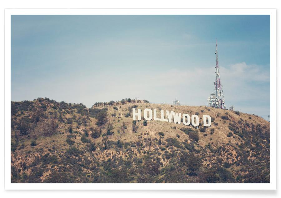 Los Angeles, Voyages, Hollywood - Photographie affiche
