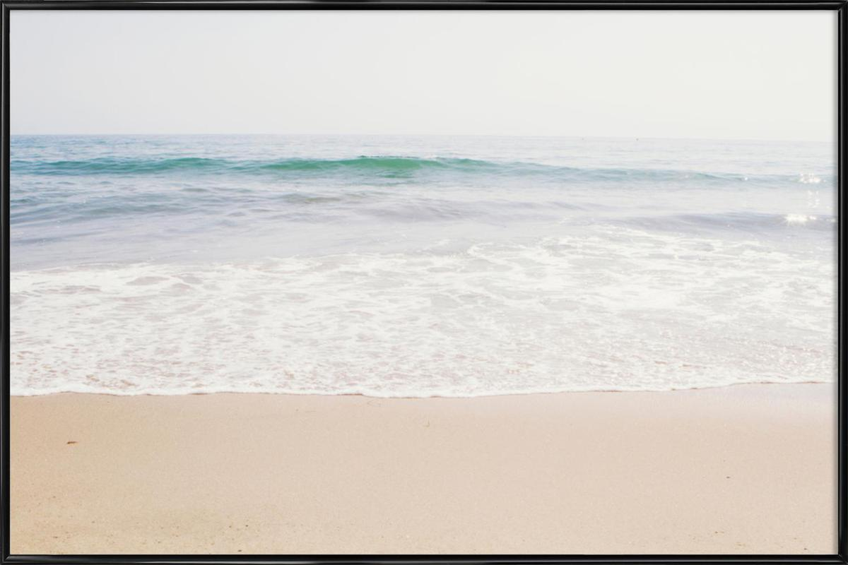 Malibu -Bild mit Kunststoffrahmen