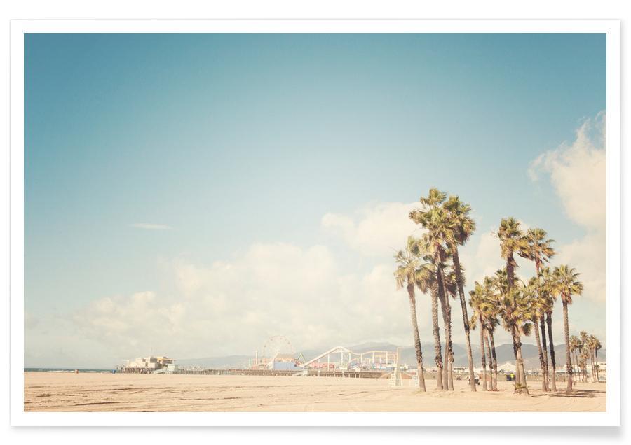 Santa Monica-Fotografie -Poster