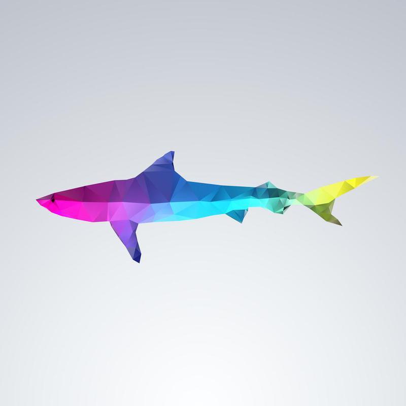Glass Animals - Shark Aluminium Print