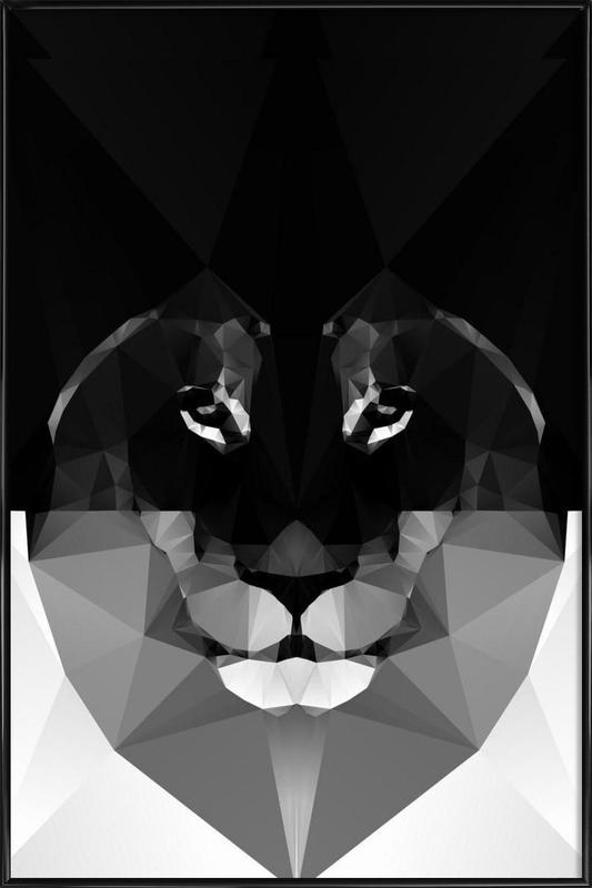 Maalo -Bild mit Kunststoffrahmen