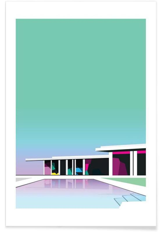 Architectonische details, Less than zero poster