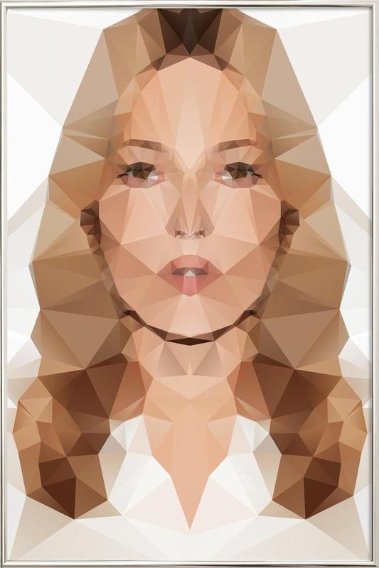 Kate III -Poster im Alurahmen
