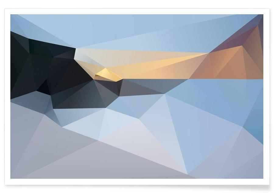 Paysages abstraits, SUNRISE TAMARAMA 2013 affiche