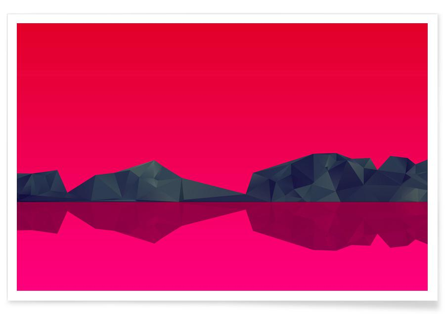 Paysages abstraits, 2 affiche