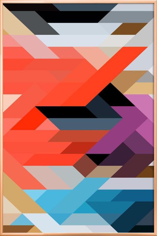 Berlin 01 -Poster im Alurahmen