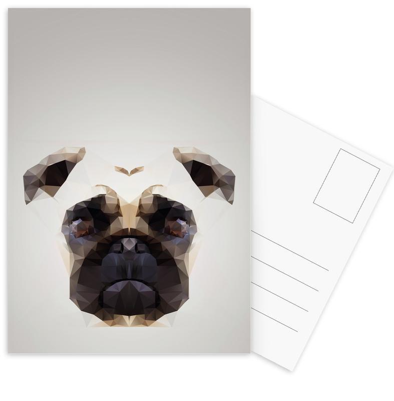 Pug 2014 cartes postales