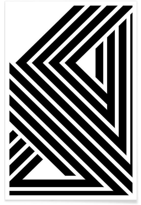 Noir & blanc, Starlines 1 affiche