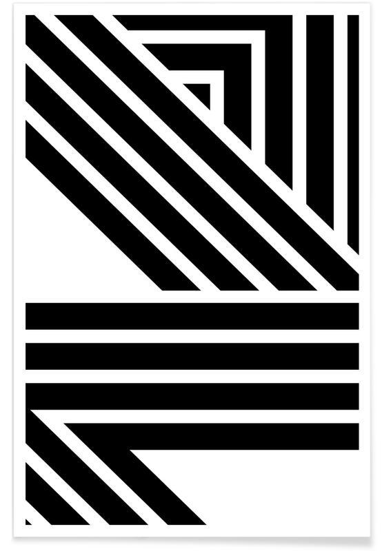 Noir & blanc, Starlines 2 affiche