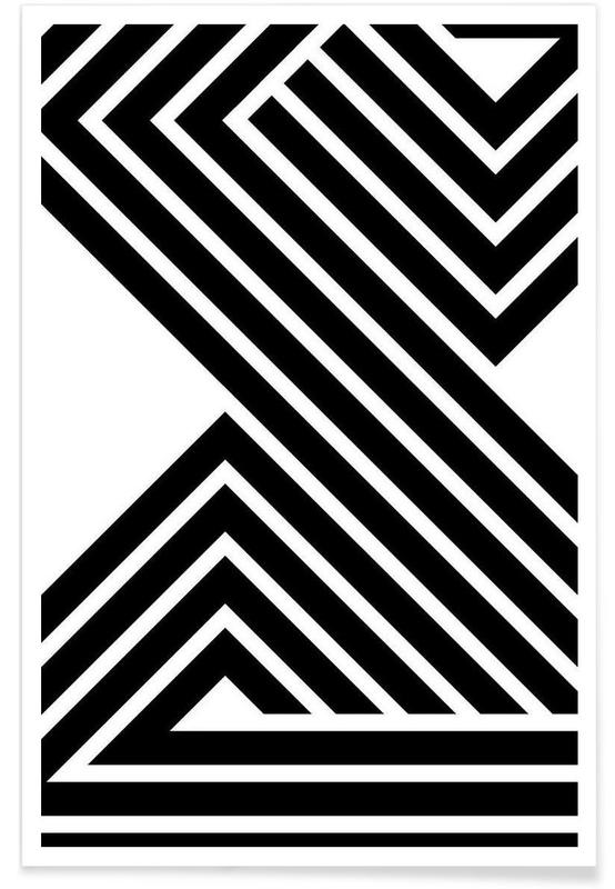Noir & blanc, Starlines 3 affiche