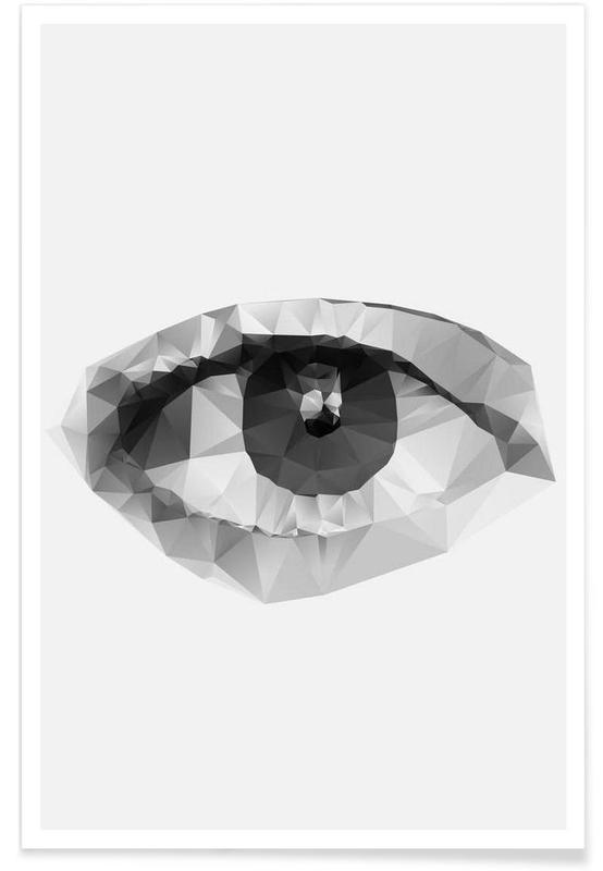 Noir & blanc, Détails corporels, Waiting affiche