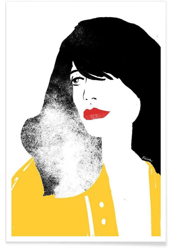 French Girl affiche