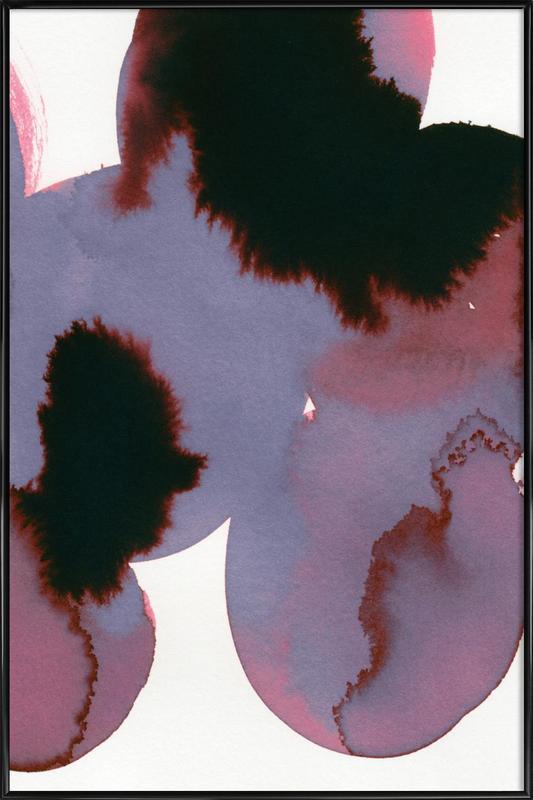Flowers 001 -Bild mit Kunststoffrahmen
