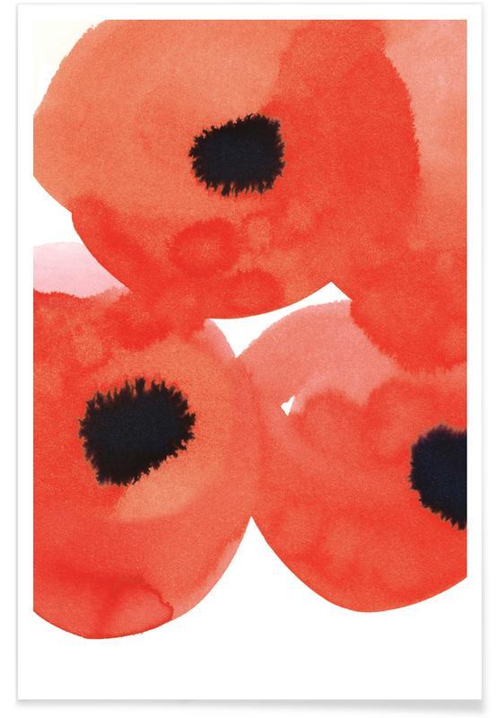 Mohnblumen, Flowers 002 -Poster