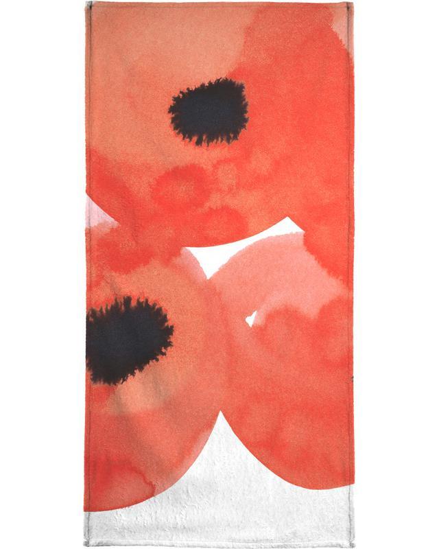 Flowers 002 -Strandtuch