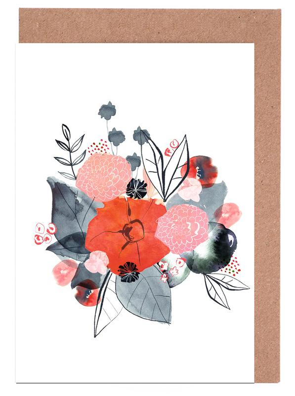 Flowers -Grußkarten-Set