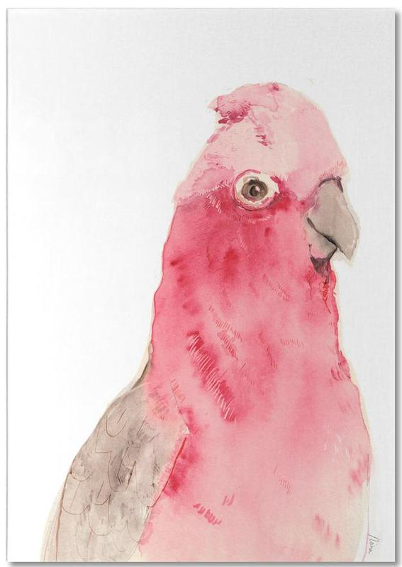 Pink Parrot -Notizblock