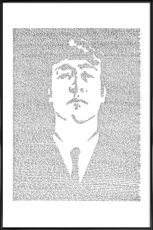 John affiche encadrée