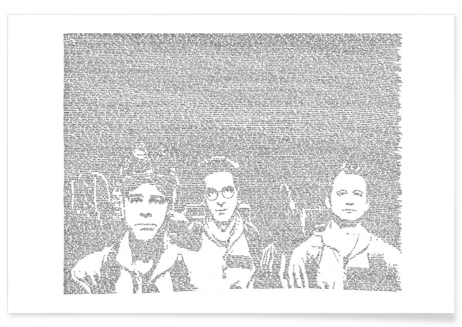 Black & White, Movies, Ghostbusters Poster