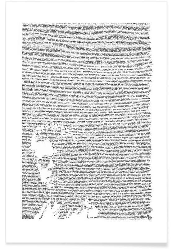 Schwarz & Weiß, Filme, Fight Club 2 -Poster