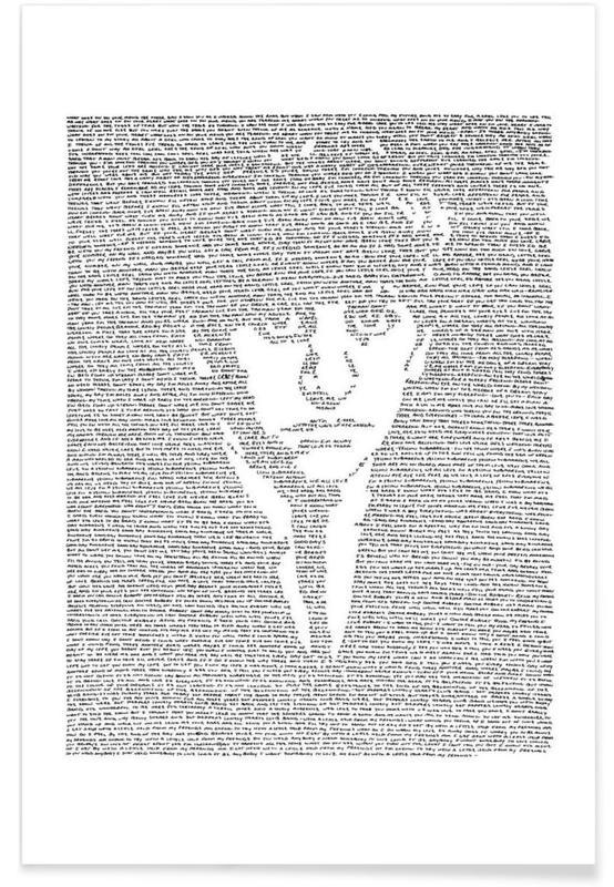 Black & White, The Beatles, Ringo Poster