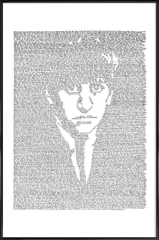Ringo affiche encadrée
