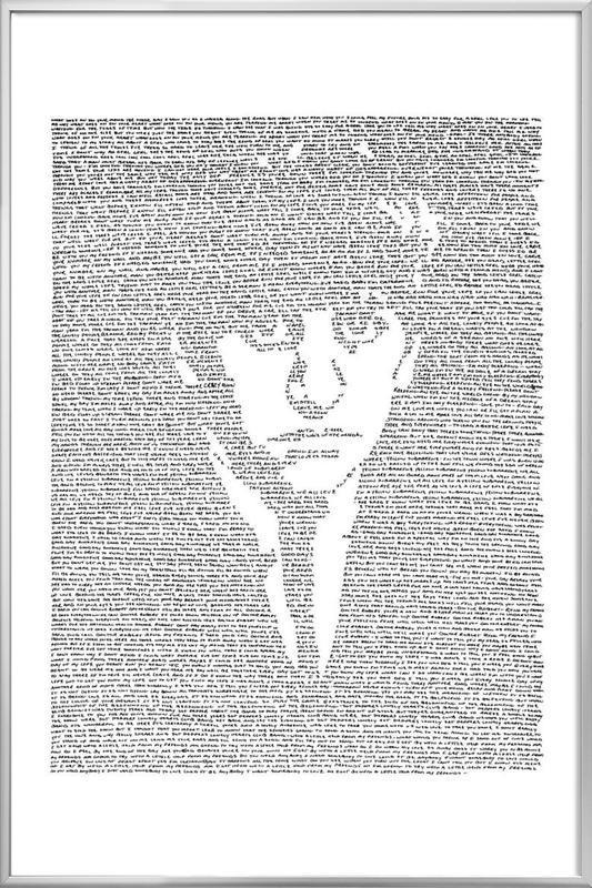 Ringo -Poster im Alurahmen