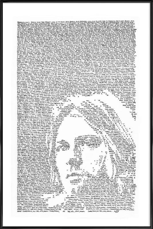 Nirvana affiche encadrée