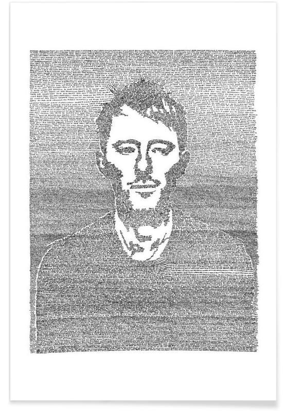 Zwart en wit, Thom poster