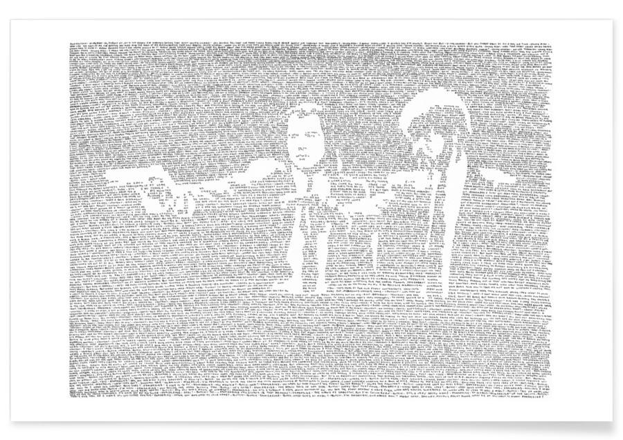 Zwart en wit, Films, Pulp Fiction poster