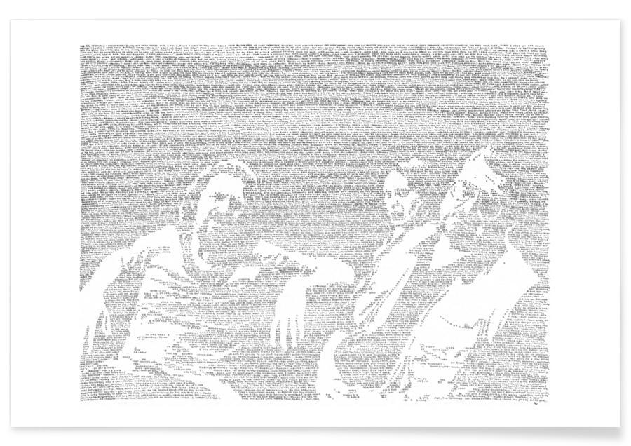 Schwarz & Weiß, Filme, Big Lebowski -Poster