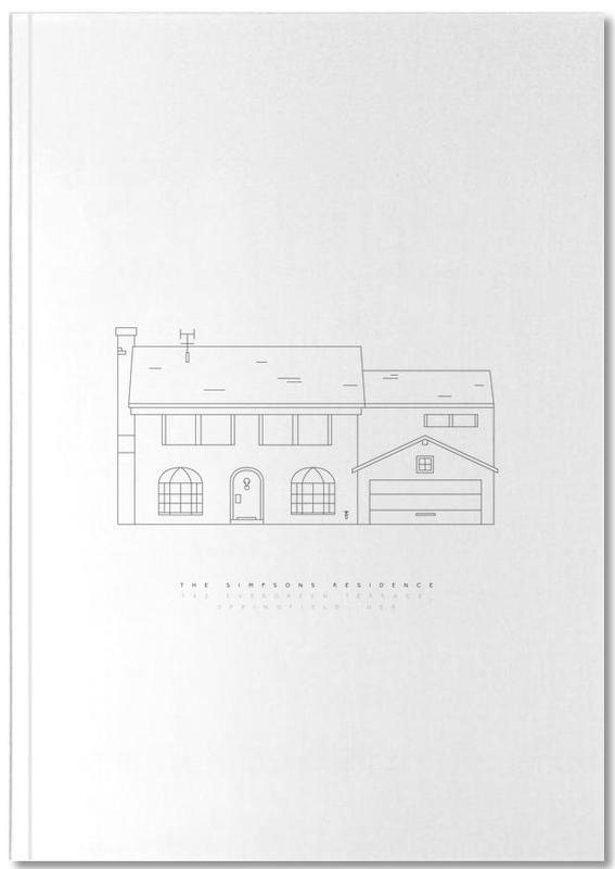 Tv-series, 742 Evergreen Terrace Notebook