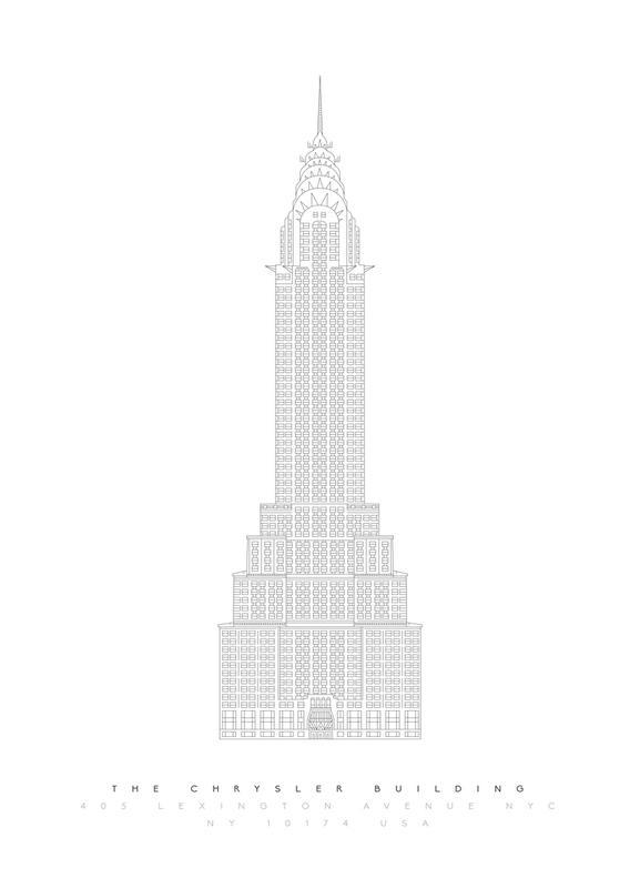 The Chrysler Building -Leinwandbild