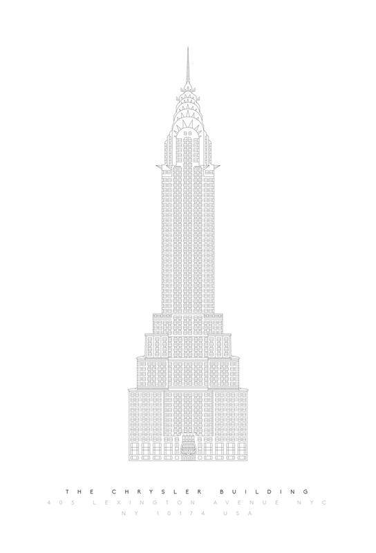 The Chrysler Building -Acrylglasbild