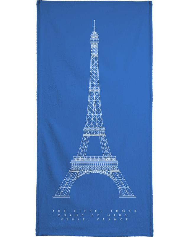 The Eiffel Tower -Handtuch