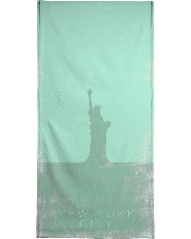 New York City Bath Towel