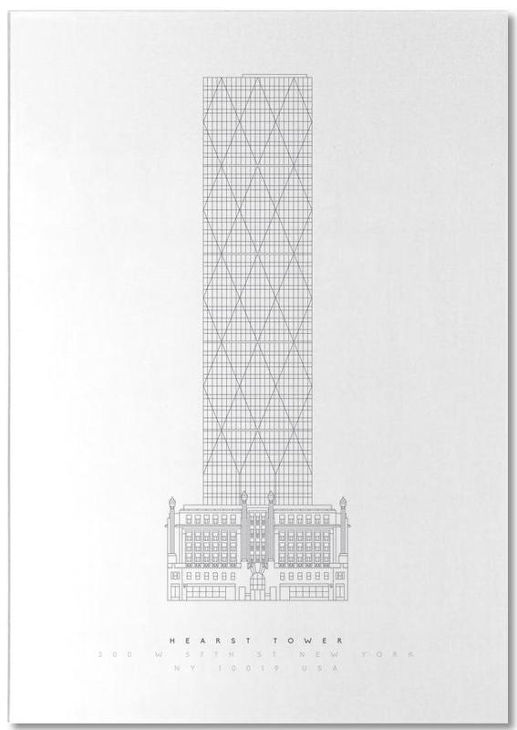 Hearst Tower Notepad