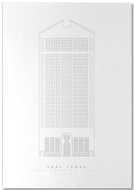 The Sony Building Notepad