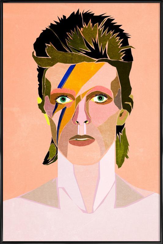 David Bowie Portrait ingelijste poster
