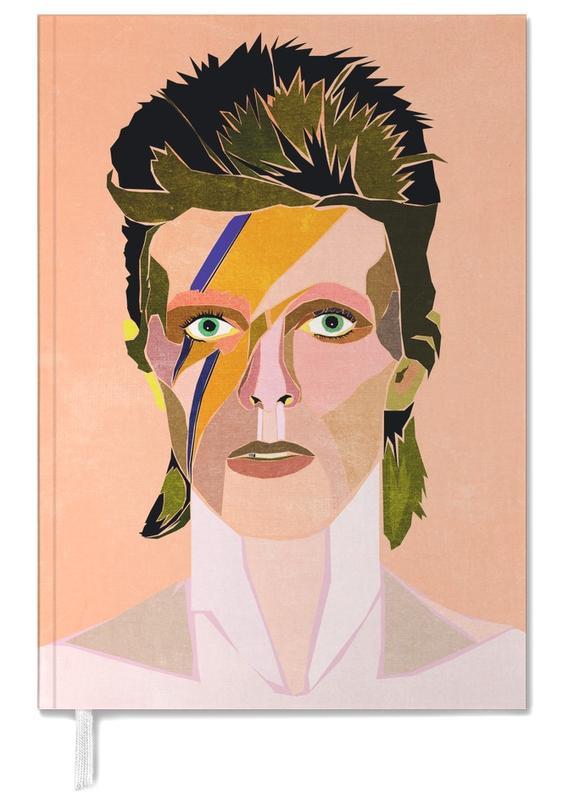 David Bowie Portrait Personal Planner