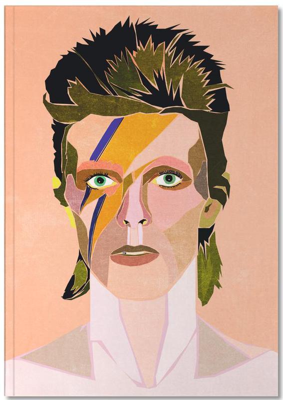 David Bowie Portrait Notebook