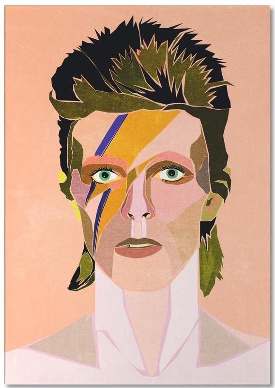 David Bowie Portrait Notepad