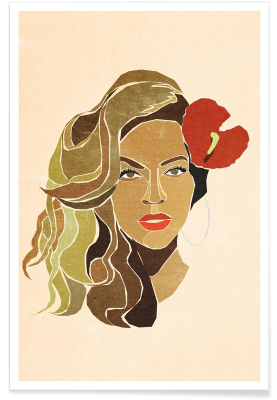 Beyonce, Beyoncé Portrait affiche