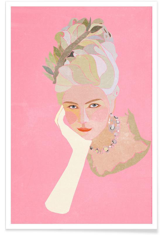 Marie Antoinette Portrait -Poster