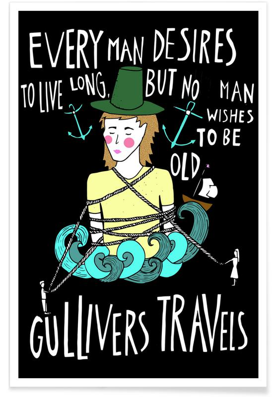 Gullivers Travels -Poster