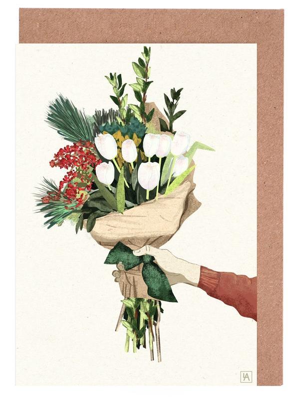 , Flowers -Grußkarten-Set