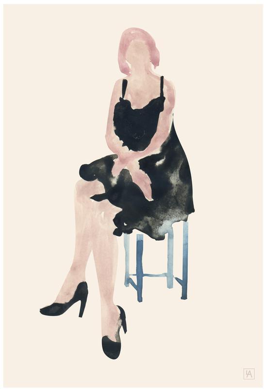 Blue Chair -Alubild
