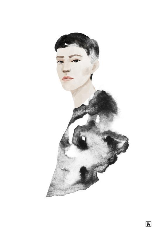 Portrait -Alubild