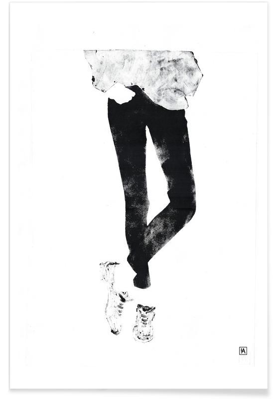 Monotype 3 -Poster