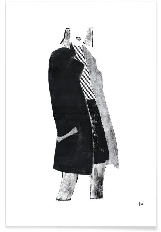 Monotype 4 -Poster